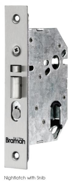 Wooden window sash stop lock - Bramah Swiss Pattern Mortice Nightlatch With Snib